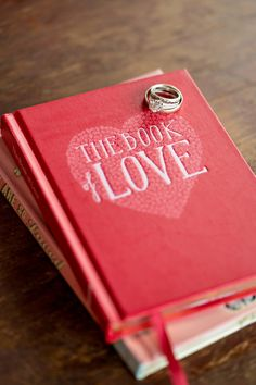 ring shot idea - Book of Love Valentine's Day Inspiration by The Funky Shack and Paperlily Photography - via ruffled