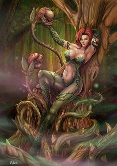 Poison Ivy by *Felox08 on deviantART