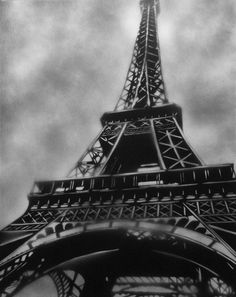 Art  Eiffel Tower by Ray Ferrer   20 x 16 Spray by UrbanWallArt, $300.00