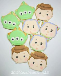 Tsum Tsum Toy Story Cookies