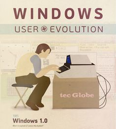 THIS INFOGRAPHIC SHOWS THE EVOLUTION OF MICROSOFT WINDOWS FROM 1985-2012    The next couple of weeks will undoubtedly be all about the future of Windows with the launch of Windows 8 and Microsoft's Surface tablet coming on October 26th, but this rather informative infographic gives us a chance of taking a walk down memory lane and seeing the evolution of the company's much-loved software. ... continue reading