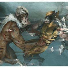 Sabertooth vs Wolverine Never Ending Death Battle