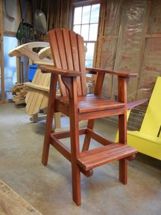 Adirondack Bar Chairs   Home Furniture Design
