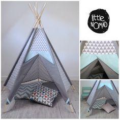 Kid's teepee girl's wigwam children's tent by TeepeeLittleNOMAD