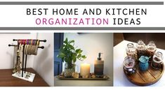 Best Home And Kitchen Organization Ideas Countertop Organization, Ikea Organization, Kitchen Organization Pantry, Dressing Table Organisation, Under Kitchen Sinks, Small Dressing Table, Pantry Makeover, Organizing Your Home, Organizers