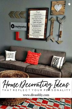 Ideas for decorating your home with personality. Our homes should tell a story.