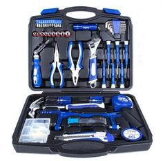 92 Pieces Classic High Quality Outdoor Garden Set Household Toolbox