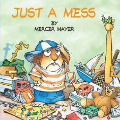 """Little Critter books by Mercer Mayer - Just A Mess - A Golden Book . """"Today I couldn't find my baseball mitt.I never thought to look there. What a mess! 90s Childhood, Childhood Memories, Mercer Mayer Books, Back In The 90s, Little Critter, Children's Literature, 90s Kids, Childrens Books, Kid Books"""
