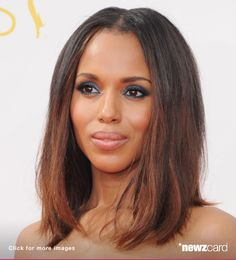 Actress Kerry Washington arrives at the 66th Annual Primetime Emmy Awards at Nokia Theatre L.A. Live on August 25, 2014 in Los Angeles, California.  (Photo by Jon Kopaloff/FilmMagic)  --  Access, discover and share millions of images at *newzcard.com.