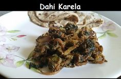 Dahi Karela is yet another karela / bitter gourd recipe which makes a sweet and sour bitter gourd dish.
