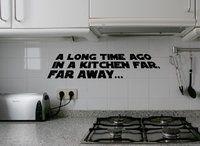 Galaxy Kitchen Wall Sticker