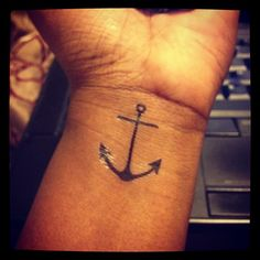 Featuring the Anchor tattoo from our Galapagos Collection