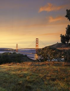 Golden Gate at Dusk. Happy 75th Anniversary!