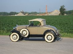 1930 Ford Model A  1930 Ford Model A Deluxe Roadster Now that's what I'm talking about!