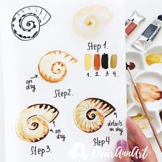 Watercolor Tips, Watercolour Tutorials, Watercolor Drawing, Watercolor Techniques, Painting & Drawing, Art Plastique, Your Paintings, Art Tutorials, Art Drawings