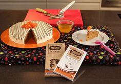 """""""Carrot Cake Con Frosting De Chocolate Blanco Y Flor De Zanahoria Caramelizada"""" en Nestlé Cocina #recetas #nestlecocina"""