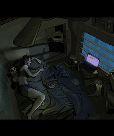 Room Shot by SC4V3NG3R on DeviantArt