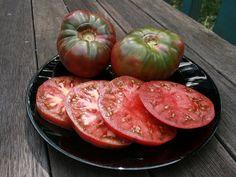 Organic Cherokee Purple Tomato Heirloom Vegetable Seeds