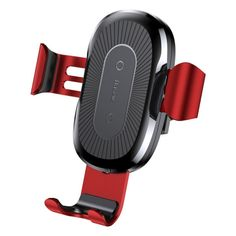 BASEUS Gravity Car Air Vent Mount Wireless Charging Holder for iPhone Plus Etc. (Not Support FOD Function) - Black.TVC-Mall online wholesale store features cell phone accessories for iPhone, Samsung and more at lowest prices from China. Car Mount Holder, Car Holder, Phone Holder, Wireless Charging Pad, Wireless Headphones, Black Russian, Iphone 8 Plus, Iphone Ladegerät, Automobile