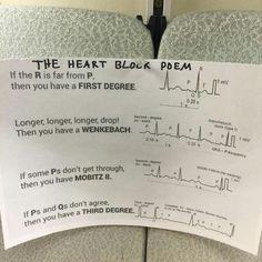 38 Best Heart Block Poem Images Nursing Notes Heart Block