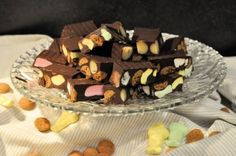 Sinterklaas Rocky Road Rocky Road, Birthday Cake, Pudding, Cookies, Breakfast, Desserts, Om, Gummi Candy, Interior