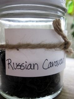 Since Twinings discontinued Russian Caravan, here is a recipe to make some:  Russian Caravan Tea  1 part Lapsang Souchong 1 part black tea (English Breakfast, Assam, Ceylon are all good, but don't use anything flavored like Earl Grey) 2 parts Oolong tea