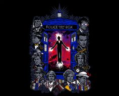 """""""Time Will Tell"""" by One Blue Bird #DrWho"""