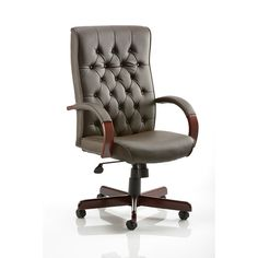 Found it at Wayfair.co.uk - Leather Executive Chair with Arms