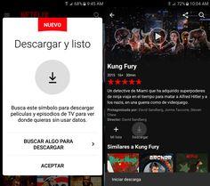Netflix estrena su función de descarga
