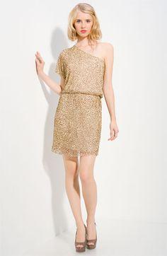 Alice + Olivia Embellished One Shoulder Dress  $595.00