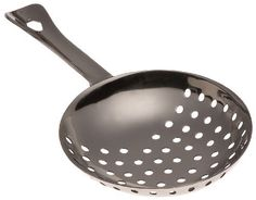 Stanton Trading 107 Single Julep Cocktail Strainer, Stainless Steel by Stanton Trading. $4.82. Two piece construction; Stainless steel. Julep strainer, two-piece construction with welded handle stainless steel.