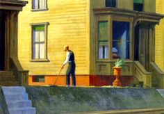 Edward Hopper: Pennsylvania Coal Town (1947) - da: Rilke e Hopper tra visibile e invisibile /1 (Re-edit)