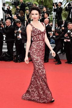 "Awesome Red Carpet Dresses Closing Ceremony And ""Le Glace Et Le Ciel"" Premiere - The 68th Annual Cannes Film Festival"