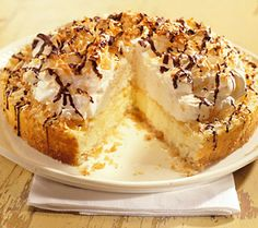 Coconut Macaroon Cheesecake Recipe