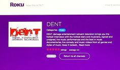 You can find DENT damage entertainment netwerk television here on Roku. This is the home of Enter The Zone Welcome To The Bookstore TV Real Education Television R.Ed. TV The Business Incorporated Sports TV (I Sports TV) and coming this Summer the debut of The Spot (the tv show for the mature adult audience). #blacktvmogul #actress #dentdamagetv #enterthezonetv #entertainment #blacktelevision #blacktelevisionshows #blacktelevisionnetwork #getmoneyfilmz #zype #digitalmedia #digitalcontent…