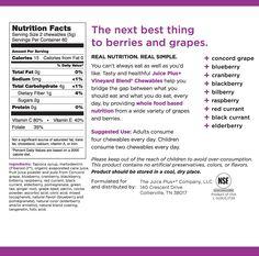 Juice Plus+ Orchard, Garden & Vineyard Blend Chewables