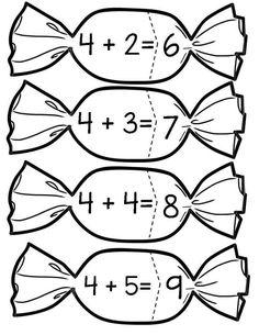 Rechnen und malen: Zahlzerlegung bis 10 #Mathe #freebie #