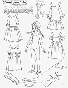 "Children's Friend - Friends from Books 1967 - ""Pippi Longstocking"""