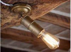 Spot lampe en laiton oxydé NIO