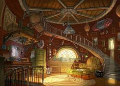 fantasy concept artwork background environment references character matt bedroom contract gaser wizard drawing interior cartoon common attic animation friends mattgaser