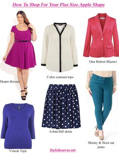 STYLISH CURVES: SHOPPING: HOW TO DRESS YOUR SHAPE WHEN YOU'RE PLUS SIZE (PART I)