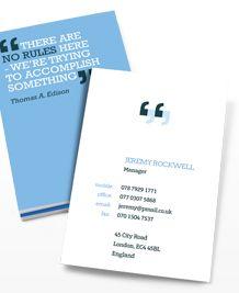 15 Cool Journalist Business Cards 9   Work   Pinterest   Business ...