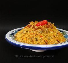 Riz Djerbien, un plat délicieusement complet et polyvalent ! – Cuisine à 4 mains Libyan Food, Tunisian Food, Eastern Cuisine, Pasta, Rice Dishes, Quick Meals, Risotto, Diet Recipes, Lunch