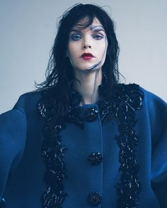 Night Makeup By Marla Belt For Vogue UA • WMN ISSUE