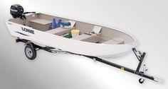V1667T  Utility-V Boat
