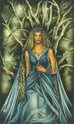 Finduilas, King Orodreth's daughter of Nargothrond by ebe-kastein.deviantart.com on @deviantART