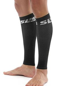 SLS3 FXC Calf Compression Sleeves Black XSmallSmall -- BEST VALUE BUY on Amazon #CrossFitness Compression Sleeves, Calf Compression, Calf Pain, Knee Sleeves, Gym Workout Tips, Sore Muscles, Work Travel, Black Media, Fitness Tips