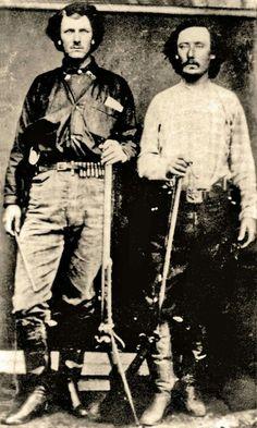 On left. Lawman Bill Tilghman.