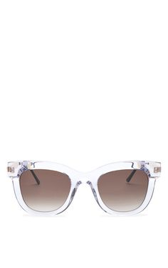 Shop Sexxxy Sunglasses In Clear by Thierry Lasry Now Available on Moda Operandi