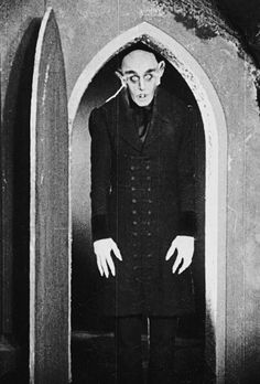 "vintagegal:  ""Is this your wife? What a lovely throat."" Nosferatu (1922)"